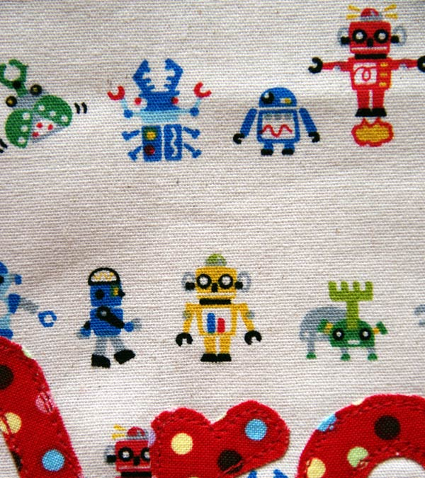 Tiny Robot fabric