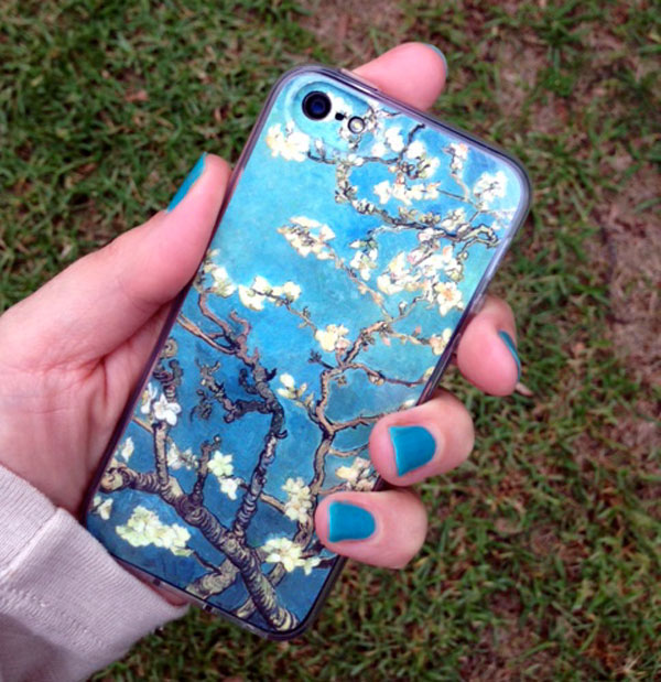 Beautiful iphone Gelaskins (art by Van Gogh)