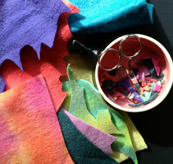 Felt Offcuts in beautiful colours