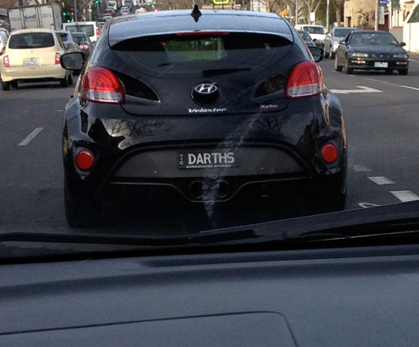 Darth's Car
