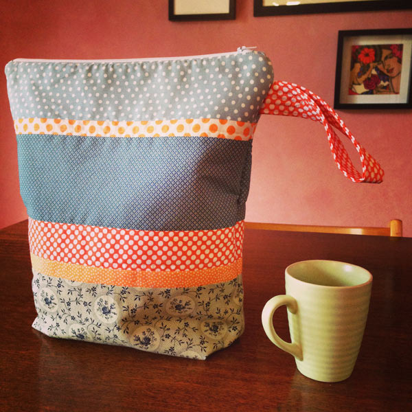 Knitting Bag made by Matching Pegs
