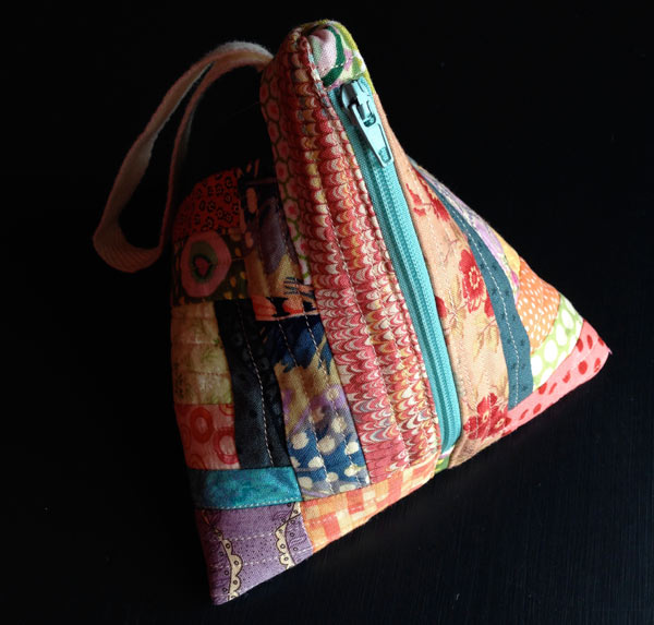 Samosa Purse made by Matching Pegs