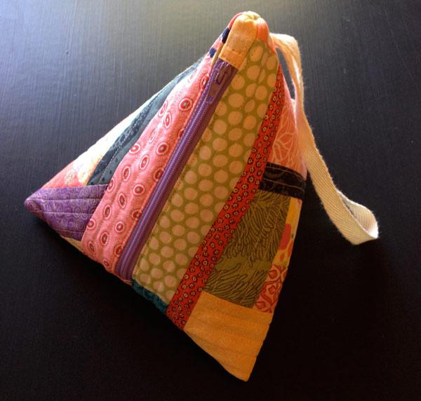 Samosa Purse made by Matching Pegs