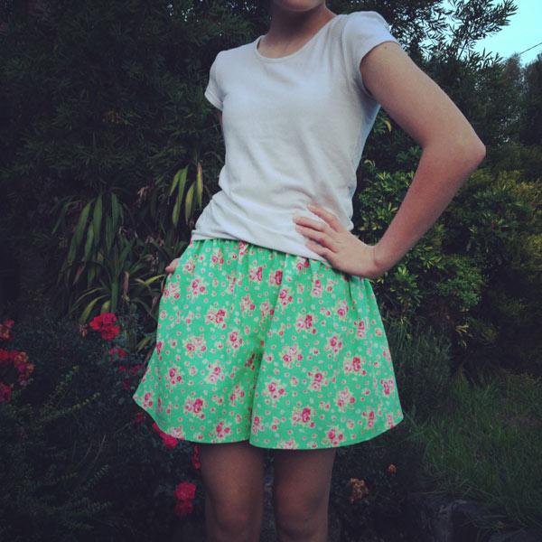 Shorts for Amelia