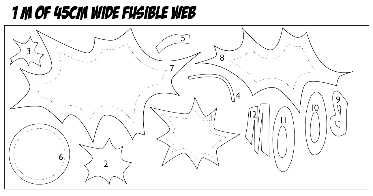 Fusible Web Drawing