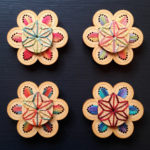 Lillian brooches by Matching Pegs