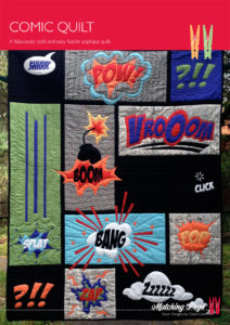 CG018 - Comic Quilt Cover A4 - Pattern by Matching Pegs