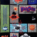 Comic Quilt by Matching pegs