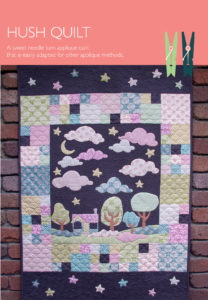 Hush Quilt Cover - Pattern by Matching Pegs