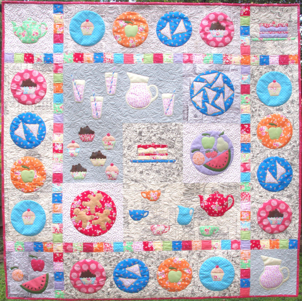 Picnic Feast Quilt - Pattern by Matching Pegs