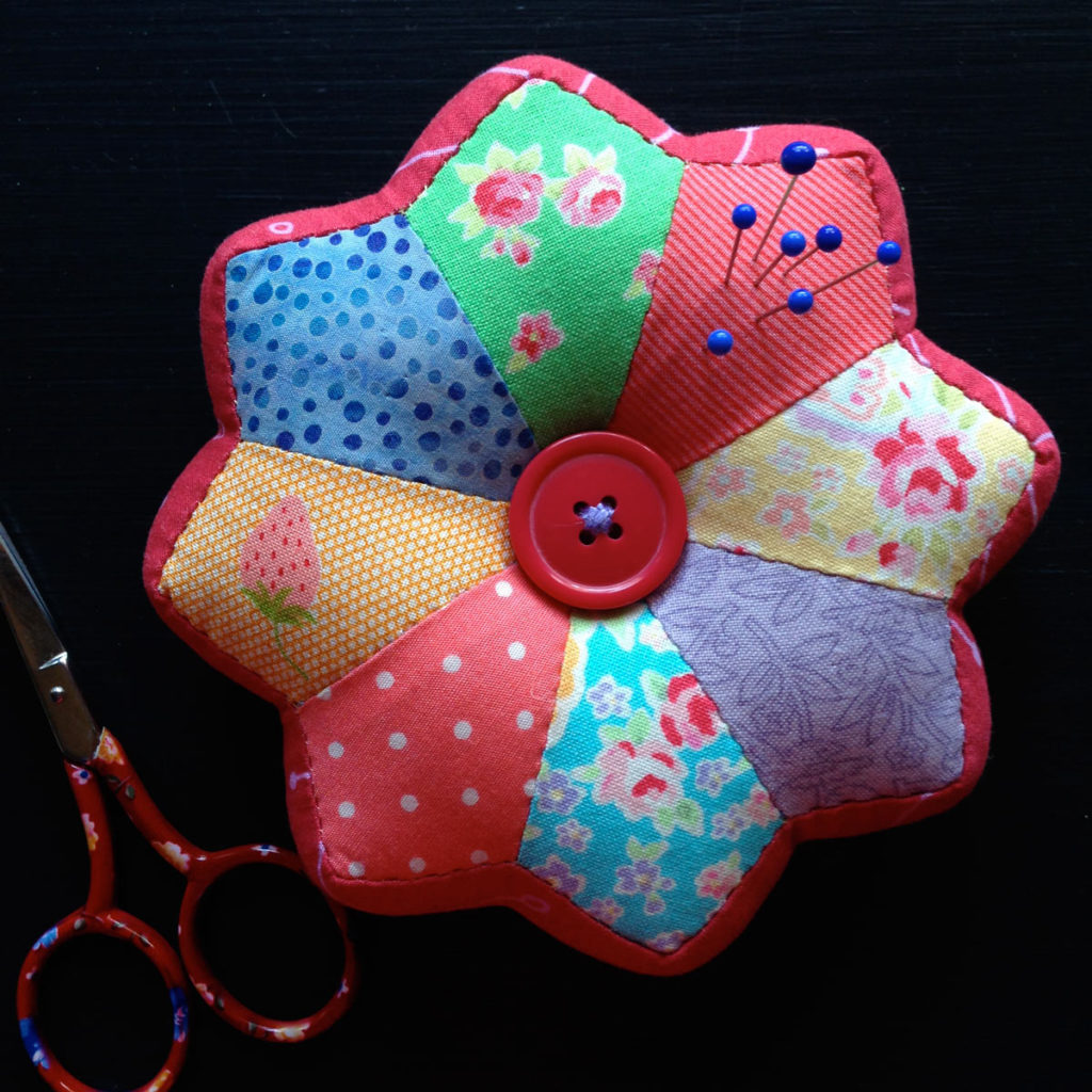 Sherbet Pincushion - Creative Card by Matching Pegs